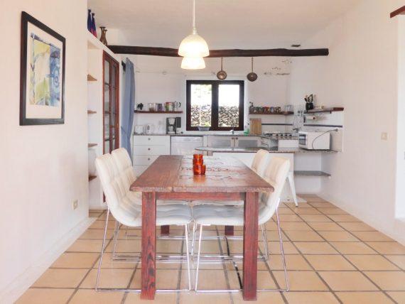 Finca Miramar - Casa Essen Küche