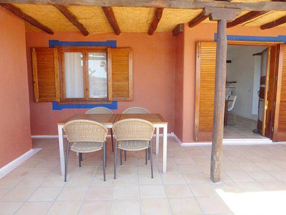 Finca Miramar - Casa Terrasse mit Pergola