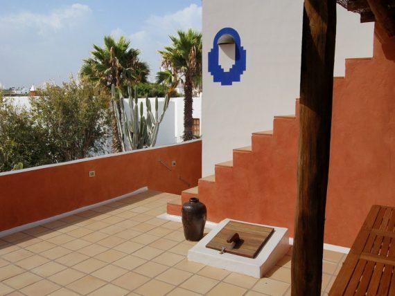 Finca Miramar - Casa Dachtreppe