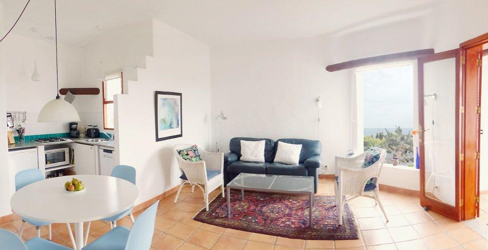 Finca Vistamar Casa Azul Wohnbereich