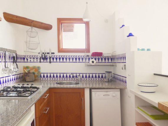 Finca Vistamar Casa Blanca Küche