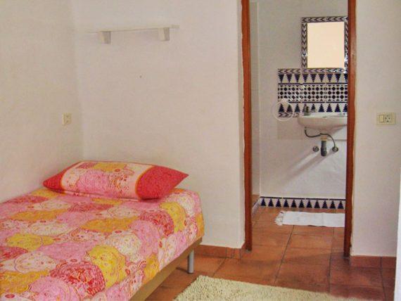 Finca Vistamar Casa del Sol Schlafbereich Bad