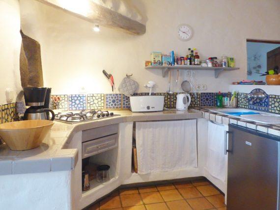 Finca Luciana El Campo Küchenbereich